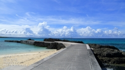 渡口の浜,伊良部,沖縄,壁紙,海,ビーチ,防波堤