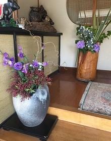 玄関お花2