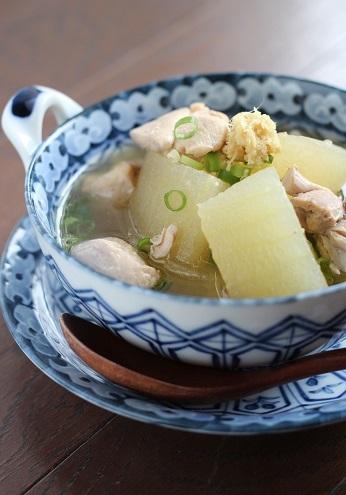 冬瓜と鶏肉のスープ煮1