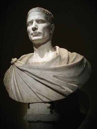 カエサルの胸像(ウィーン美術史美術館)