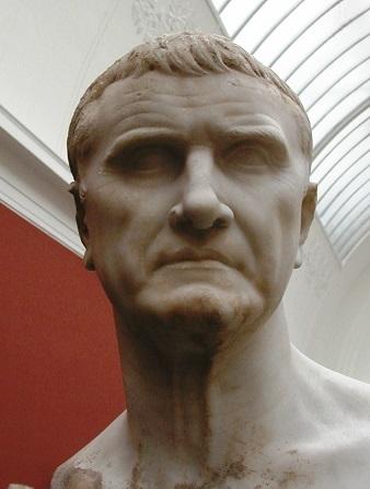 クラッススの頭像(ニイ・カールスベルグ・グリプトテク美術館)