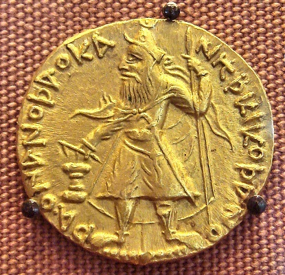 カニシカ1世の金貨