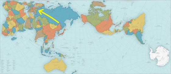 世界地図 オーサグラフ 2