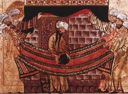 預言者ムハンマドによる「カアバの黒石」の聖別