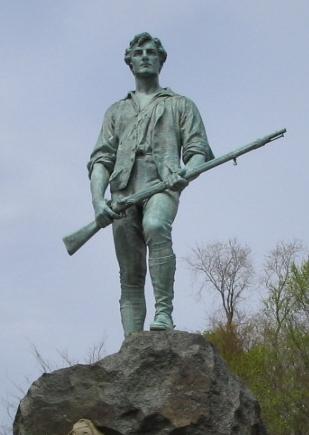 レキシントン (マサチューセッツ州)のミニットマン像