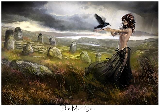 女神モリガンとモルガン銀行
