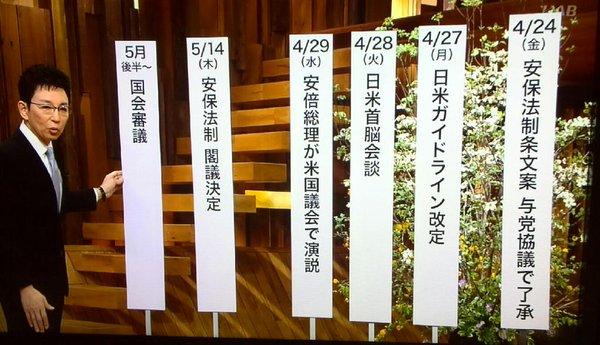 日米ガイドライン見直し 反対 2