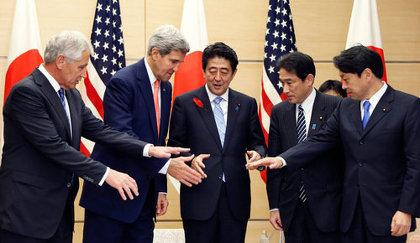 日米ガイドライン見直し 安倍総理 1