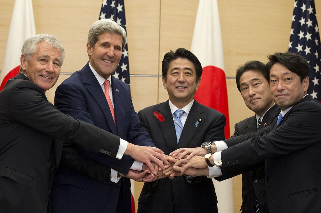 日米ガイドライン見直し 安倍総理 2
