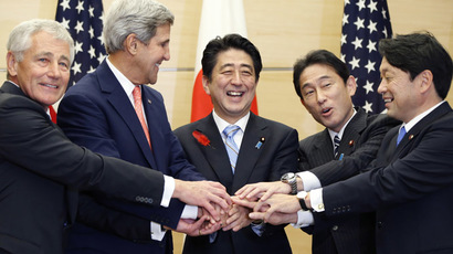 日米ガイドライン見直し 安倍総理 3