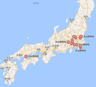 大山祇神社 マップ