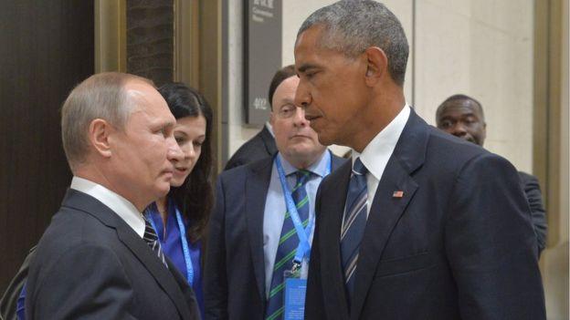 オバマ プーチン