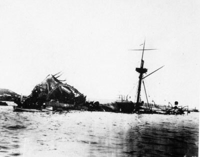 ハバナで爆沈したUSS ACR-1 メイン