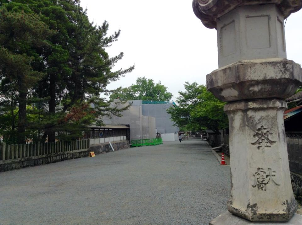 阿蘇神社、参詣