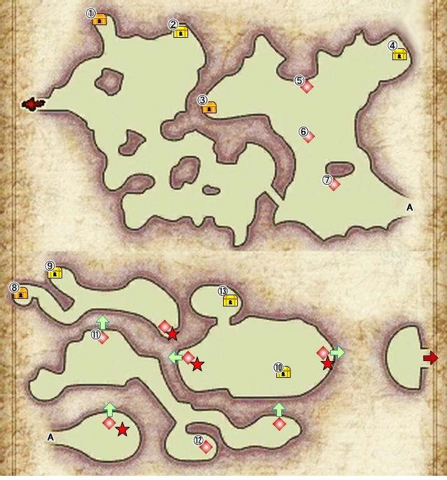 【アラアラ 攻略】 9章 「パンデモニウム」のマップ 地図 【アライアンス・アライブ】