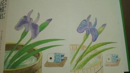 塗り絵絵葉書3