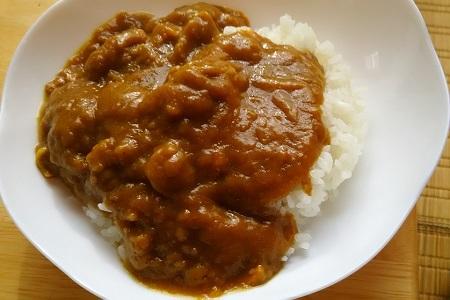 川内第2食堂普通カレー2