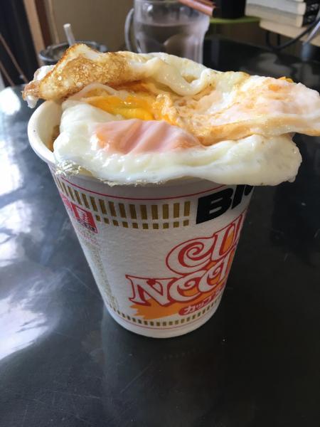 カップヌードル卵のせ美味そうだろwwwwwwww