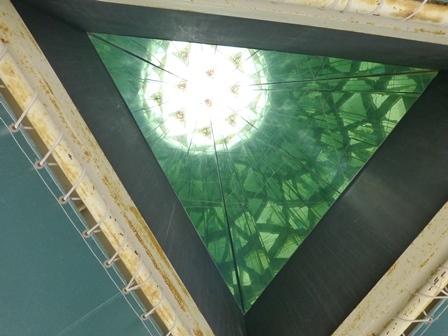 黒壁ガラス館巨大万華鏡23