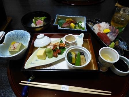須賀谷温泉夕食9