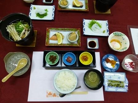 須賀谷温泉朝食5