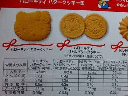 ブルボンキティクッキー缶 4