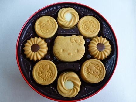 ブルボンキティクッキー缶 10