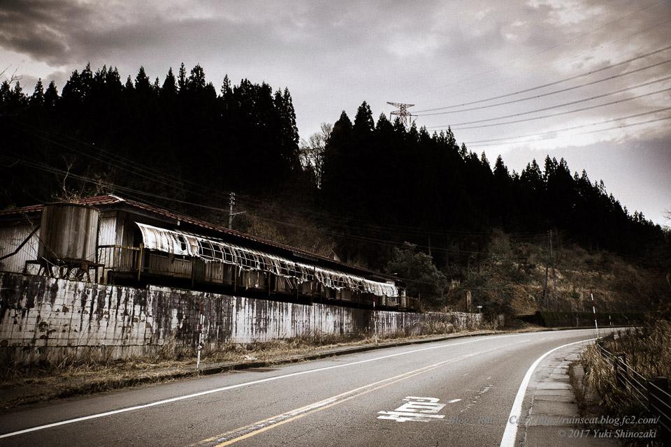 【廃墟】リゾートイン長岡_国道側からの外観