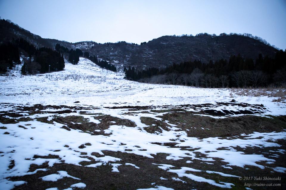 【廃墟】オムサンタの森スキー場_ゲレンデ