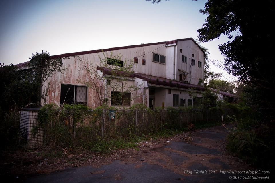 【廃墟】指宿ソーイング_工場外観