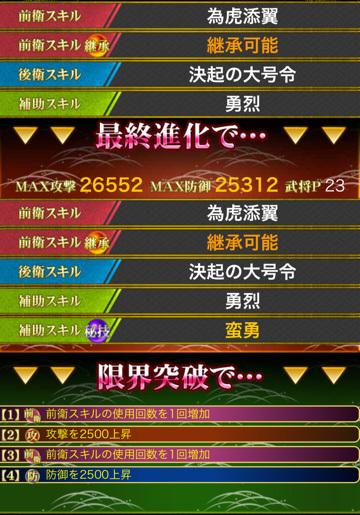 [戦姫快槍]加藤清正SSR コスト23 スキル
