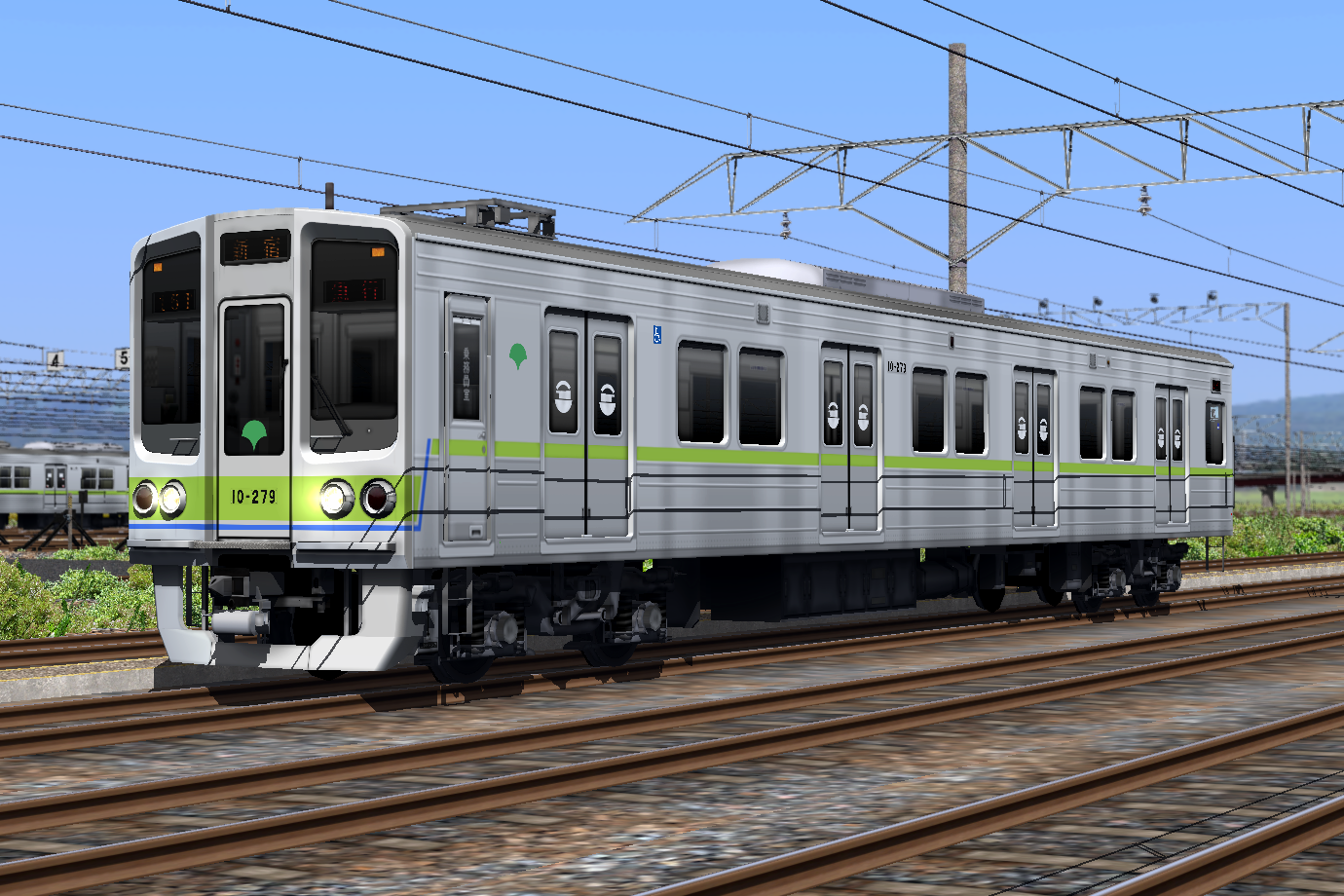 RailSim-解説]東京都交通局10-000形(Ver 2.0) 取扱説明 | しろまくえ ...