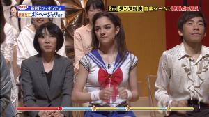 【テレビ】メドベージェワ、セーラームーンのコスプレ衣装で『炎の体育会TV』出演!ダンス対決での腰の動きがエロすぎるwwwwwwwwww SHOWBIZ JAPAN