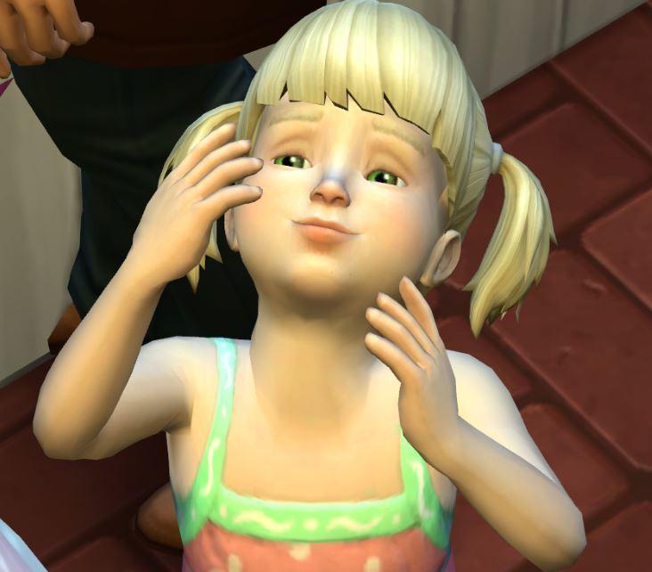 sims4 mod 幼児用スキン【S-Club WMLL ts4 T skin1.0】 - Sims4【SKIN】スキン