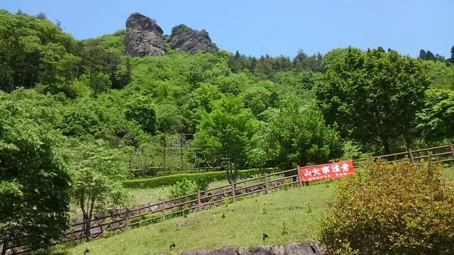 道の駅霊山たけやま景色