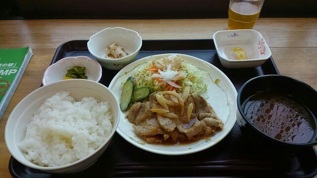 道の駅あがつま峡昼食