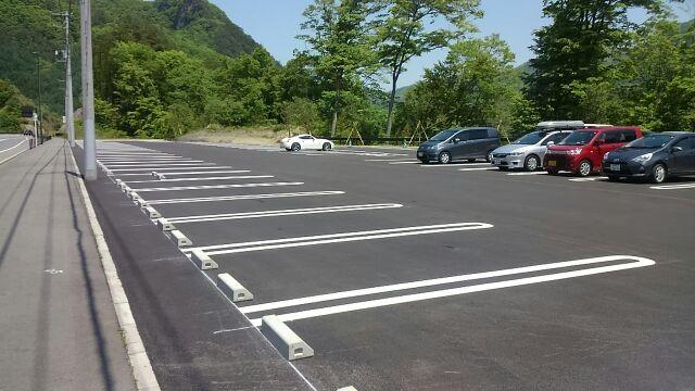 道の駅八ッ場ふるさと館駐車場