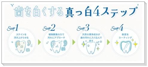 ザラザラ乾燥、口臭予防、歯を白くする!無添加オールインワン、ホワイトニング歯磨き【はははのは】口コミで人気、安い!