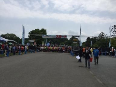 8000人が参加したリレーマラソン