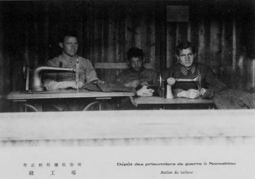 ドイツ兵捕虜習志野収容所縫製工場1