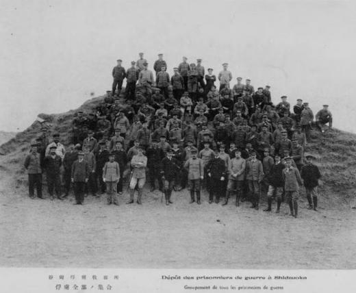 ドイツ兵捕虜静岡収容所捕虜全員集合1