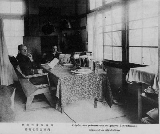ドイツ兵捕虜静岡収容所将校収容室1