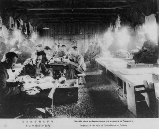 ドイツ兵名古屋捕虜収容所下士卒収容舎1