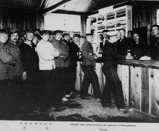 ドイツ兵捕虜似島俘虜収容所酒保1