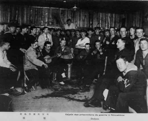 ドイツ兵捕虜似島俘虜収容所娯楽1