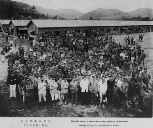 ドイツ兵捕虜坂東収容所下士卒1