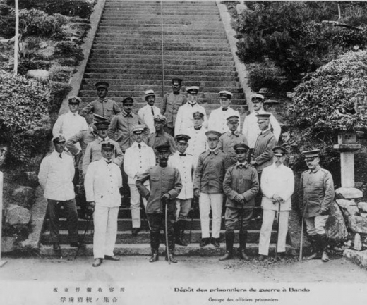 ドイツ兵捕虜坂東収容所将校1