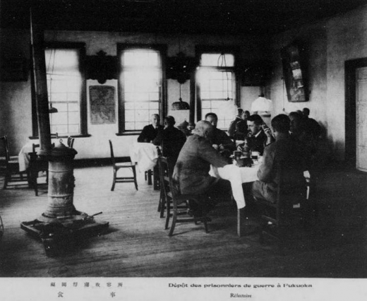 ドイツ兵捕虜福岡収容所食事1