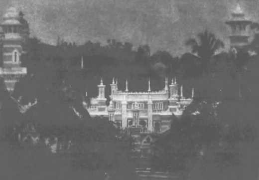 ジョホールマレイイスラム寺院1