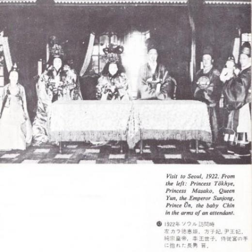朝鮮宮廷皇帝一家3
